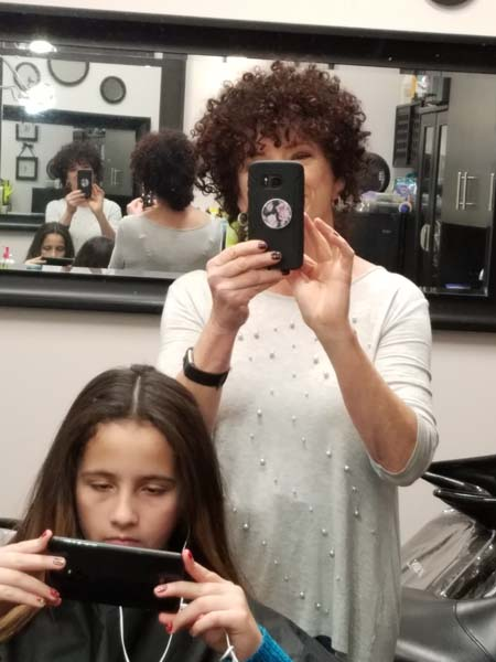 Lawrenceville Hair Gallery 26 Devacurl And Hair Color Salon Cutting One Curl At A Time Naturally Curly Hair Design Perms And The Best Balayage Hair Color Salon What Is A Devacut We Are Located